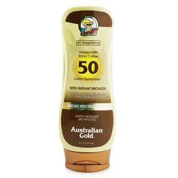 金色澳洲 Lotion Sunscreen Broad Spectrum SPF 50 with Instant Bronzer