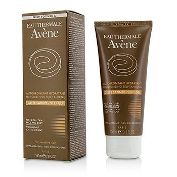 Moisturizing Self-Tanning Silky Gel For Face & Body - For Sensitive Skin