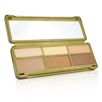 BYS Creme Contouring Palette (3x Contouring Powder, 3x Highlighting Powder)