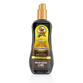 金色澳洲 Dark Tanning Accelerator Spray Gel With Instant Bronzer