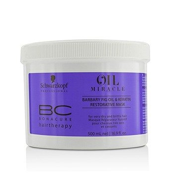 施華蔻 BC Oil Miracle Barbary Fig Oil & Keratin Restorative Mask (For Very Dry and Brittle Hair)