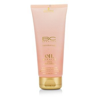 施華蔻 BC Oil Miracle Rose Oil Oil-In-Shampoo (For Stressed Hair and Scalp)