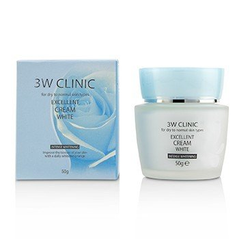 3W 診所 Excellent White Cream (Intensive Whitening) - For Dry to Normal Skin Types