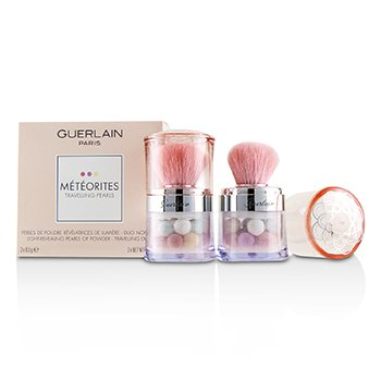 嬌蘭 Meteorites Travelling Pearls Light Revealing Pearls Of Powder Duo Set - # 2 Light