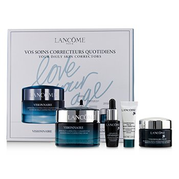 蘭蔻 Visionnaire Set: Advanced Multi-Correcting Cream+Nuit Beauty Sleep Perfector+Eye Balm+Genifique Advanced Concentrate