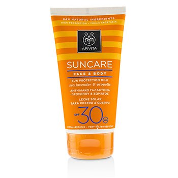 艾蜜塔 Suncare Face & Body Sun Protection Milk SPF 30 With Sea Lavender & Propolis (Exp. Date: 12/2019)